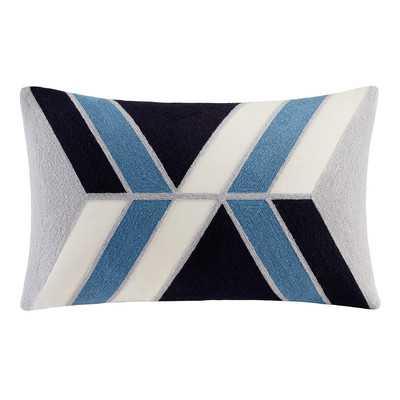Benefield Embroidered Lumbar Pillow - Wayfair