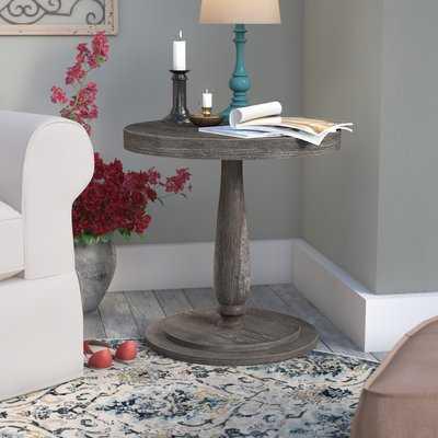 Sandiacre Round End Table - Wayfair