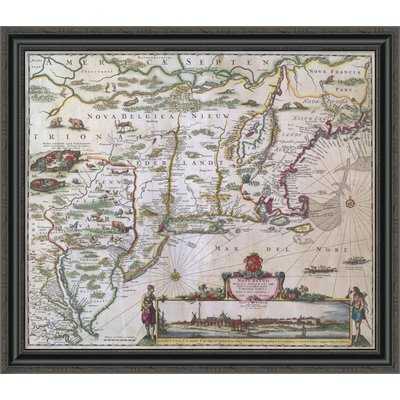 'New England' Graphic Art Print - Wayfair