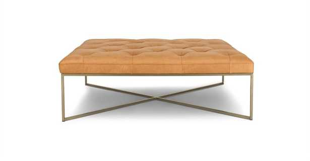 Tablet Charme Blonde Square Ottoman - Article