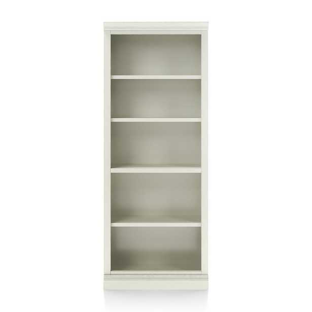 Cameo Vamelie Open Bookcase with Middle Crown - Crate and Barrel