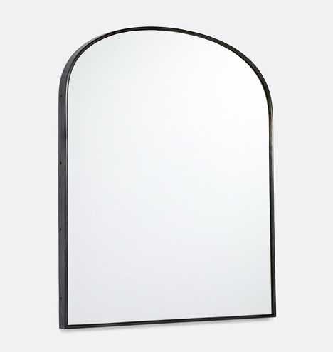Arched Mantle Metal Framed Mirror - Rejuvenation