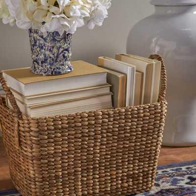Giustino Woven Storage Wicker/Rattan Basket - Birch Lane