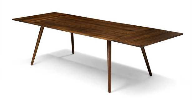 Seno Walnut Dining Table, Extendable - Article