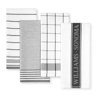 Williams Sonoma Multi-Pack Towels, Black - Williams Sonoma