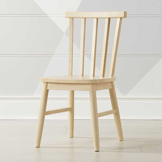 Shore Natural Kids Chair - Crate and Barrel