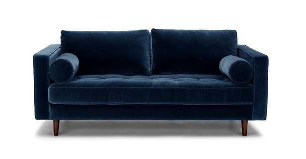 "Sven Cascadia Blue 72"" Sofa - Article"