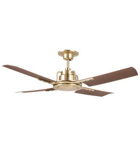 Peregrine Industrial Ceiling Fan - No Light - - Rejuvenation