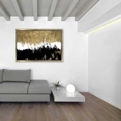 'Adore' Framed Painting Print on Canvas - Wayfair