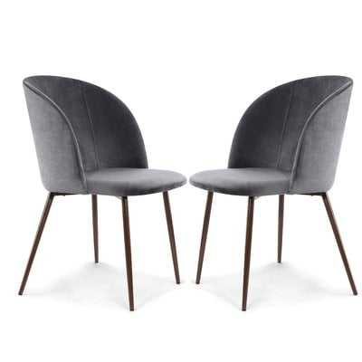 Aadhya Upholstered Dining Chair, Set of 2 - Wayfair