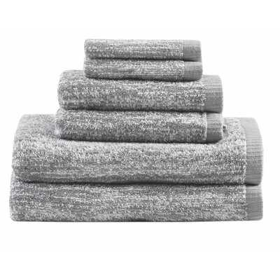 Melange 6 Piece Turkish Cotton Towel Set - AllModern