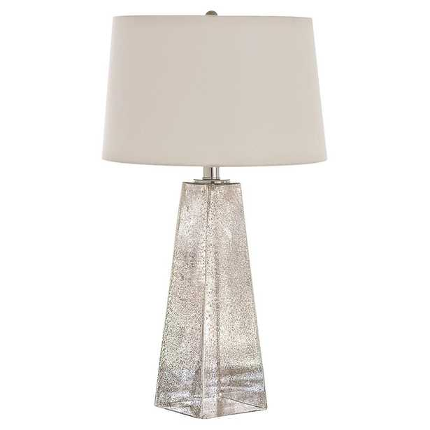Lely Coastal Beach Seeded Glass Table Lamp - Kathy Kuo Home