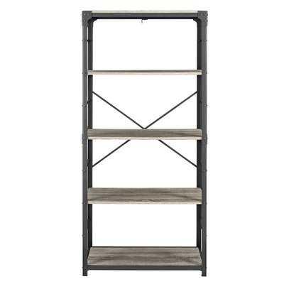 Cecelia Iron Standard Bookcase - Wayfair