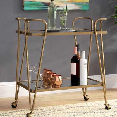 Laurence Mid-Century Bar Cart - Birch Lane