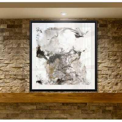 'Marble Onyx II' Graphic Art Print on Canvas - Wayfair