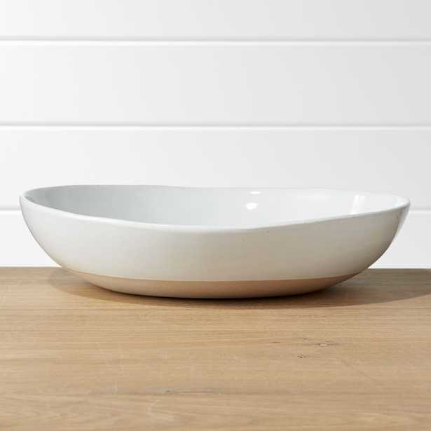 Welcome II Large Serve Bowl - Crate and Barrel