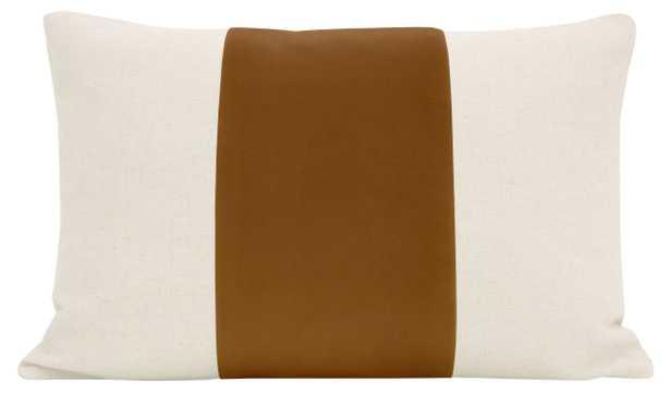 "The Little Lumbar :: PANEL Signature Velvet // Marrakesh Gold - 12"" X 18"" - Little Design Company"