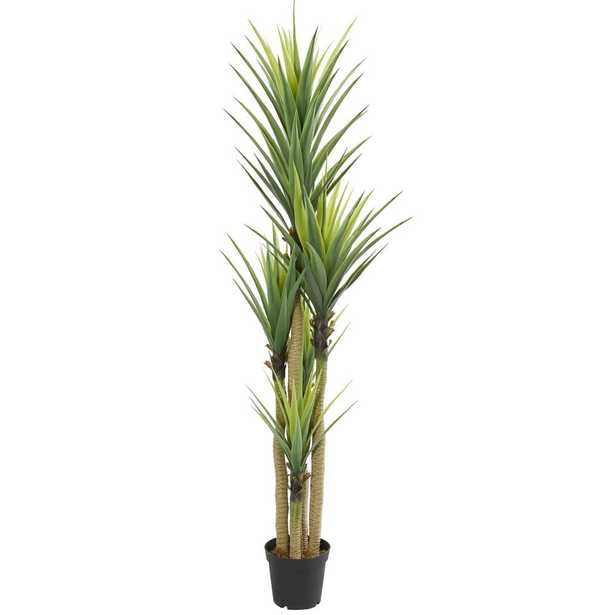 Nearly Natural Indoor Dracaena Artificial Plant - Home Depot