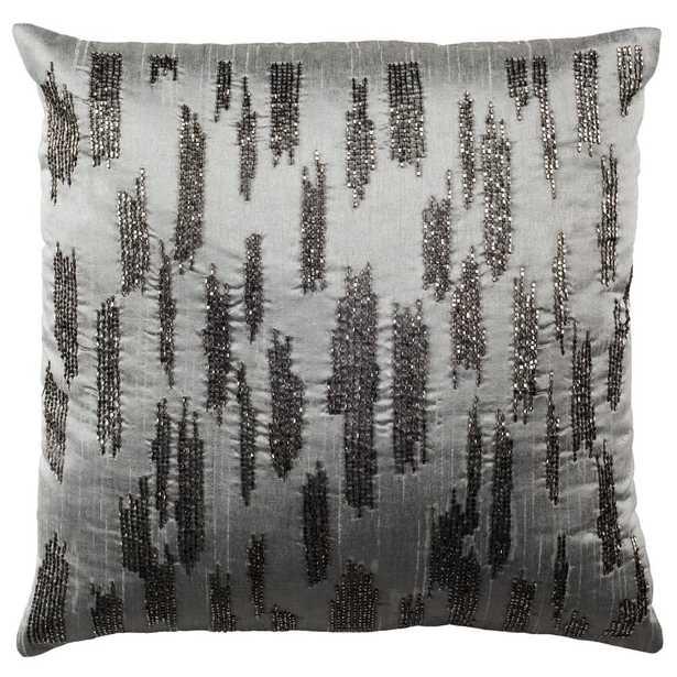 Jasper Slash Pillow, Grey - Home Depot