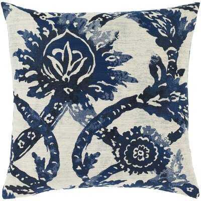 Clemson Transitional Navy Pillow Cover - Wayfair