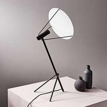 Powell LED Table Lamp, Dark Bronze - West Elm