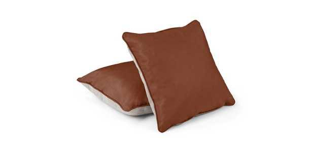Belez Yuma Terra Red Pillow Set - Article