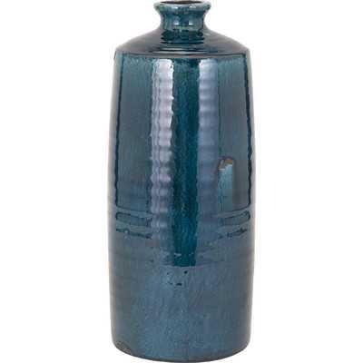 Blue Trumpet Table Vase - Birch Lane
