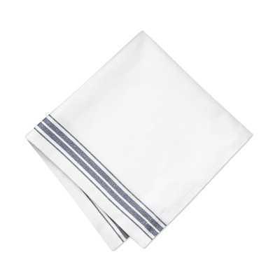 Restaurant Stripe Napkin, Each, Blue - Williams Sonoma