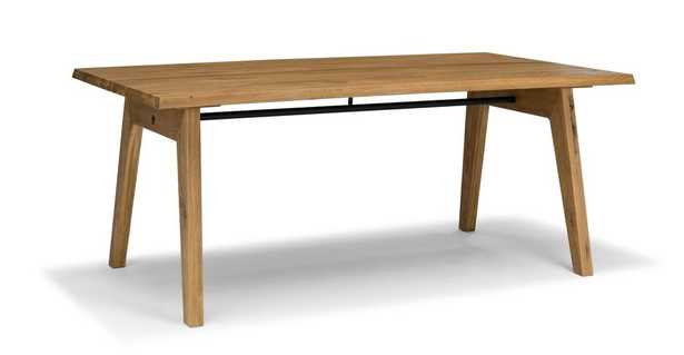 Madera Oak Dining Table For 6 - Article