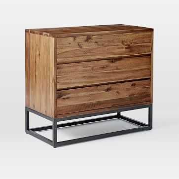 Logan 3-Drawer Dresser, Natural - West Elm