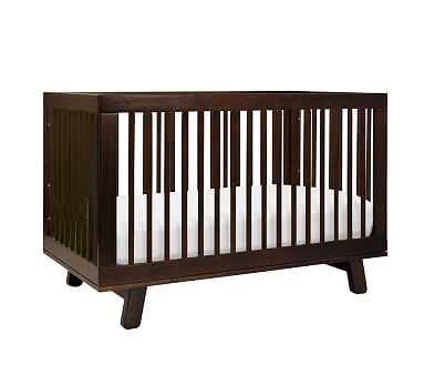 Babyletto Hudson 3-in-1 Crib, Espresso, Standard UPS Delivery - Pottery Barn Kids