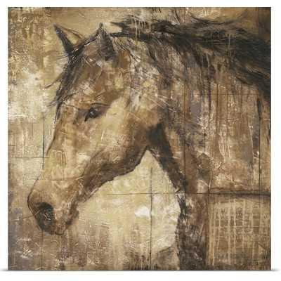 'Cavalier' by Liz Jardine Painting Print - Wayfair