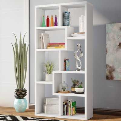 Skaggs Geometric Bookcase - AllModern