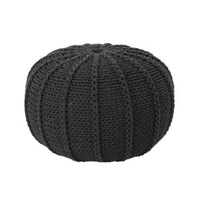 Bryant Maag Knitted Pouf - AllModern