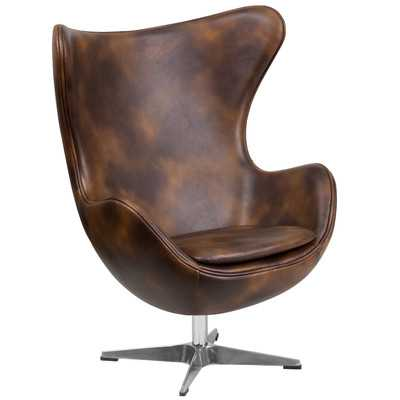 Ailbe Swivel Balloon Chair - AllModern