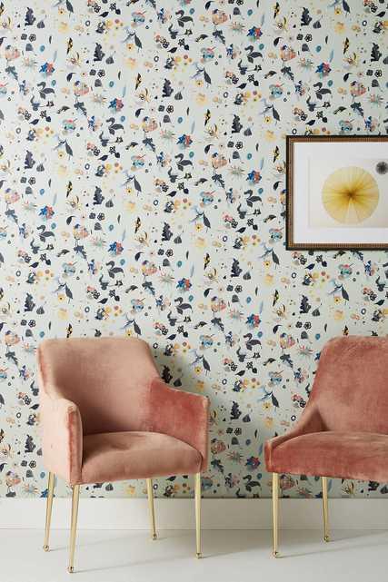 Floral Bliss Wallpaper - Anthropologie