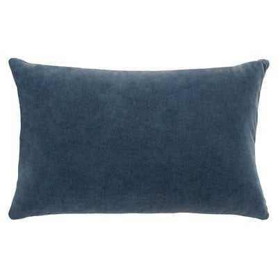 French Connection Kerensa Decorative Lumbar Pillow in Navy - Wayfair
