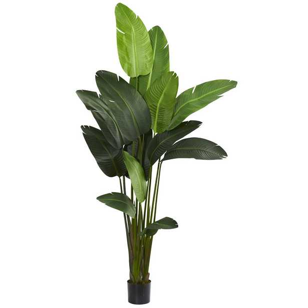 Nearly Natural Indoor Travelers Palm Artificial Tree - Home Depot