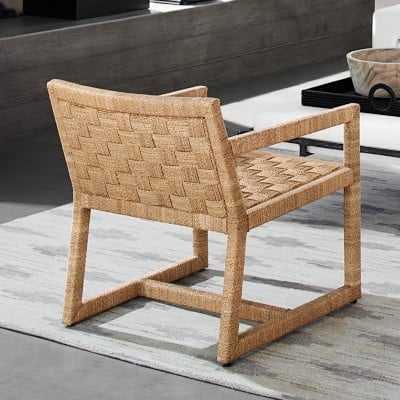 Vista Occasional Chair, Natural - Williams Sonoma