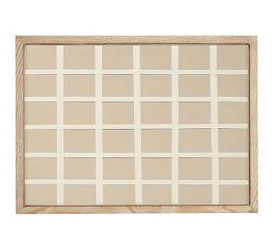 Daily Modular Wall System, Pinboard (Full) - Livingston Gray - Pottery Barn