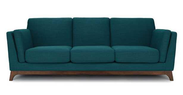Ceni Lagoon Blue Sofa - Article