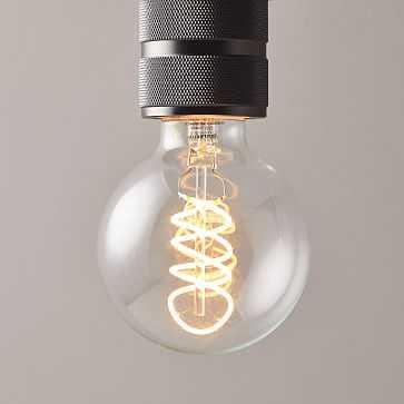 Nostalgic LED Light Bulb, Globe - West Elm