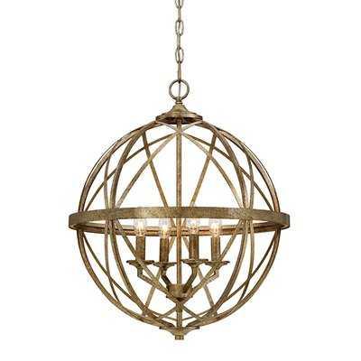 Rodden 4-Light Globe Chandelier - Wayfair