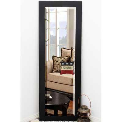 Beveled Black Wall Mirror - Wayfair