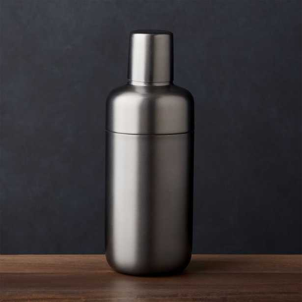 Fenton Graphite Cocktail Shaker - Crate and Barrel