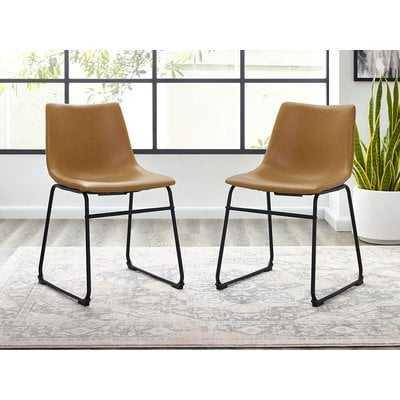 Aurik Upholstered Side Chair (Set of 2) - AllModern