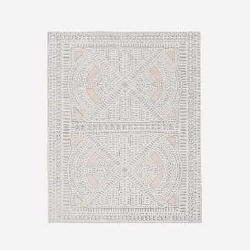 Dynasty Rug, Rosette, 8'x10' - West Elm