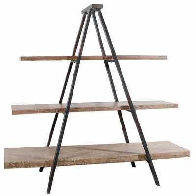 Baroda Rustically Charmed 3-Tier Ramsden Ladder Bookcase - Wayfair
