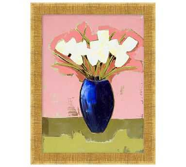 """Springtime Tulips Canvas, 14 x 18"""" - Pottery Barn"""