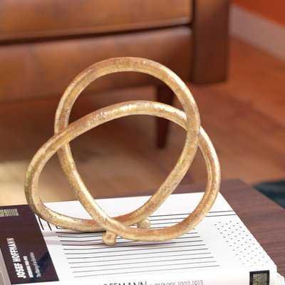 Christos Eternal Loop Metal Sculpture - Wayfair